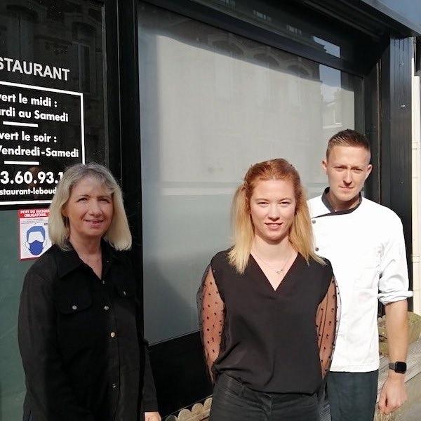 Equipe restaurant Le Boudoir